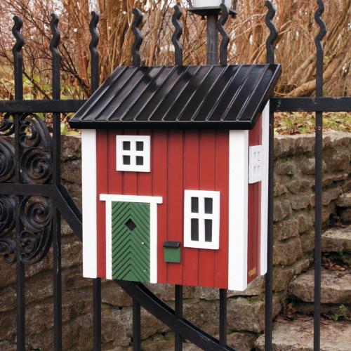 Wildlife Garden postkasse - rød