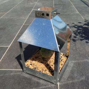 A2 Living foderbræt i galvaniseret stål