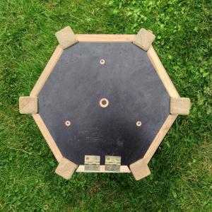 Hercules sekskantet foderbræt, tagpap - lille