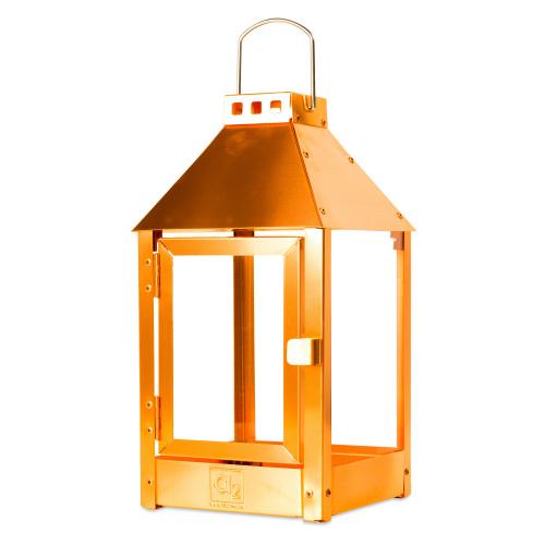 A2 Living lanterne, ægte kobber - 33 cm
