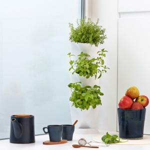 Minigarden Corner plantevæg - grå