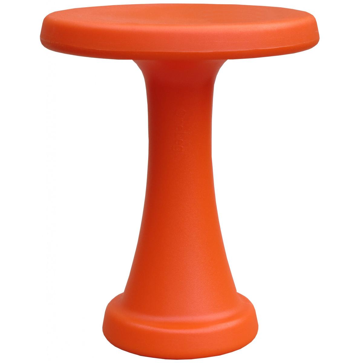 OneLeg skammel, 32 cm - orange