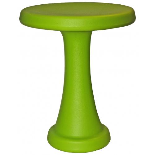 OneLeg skammel, 32 cm - limegrøn