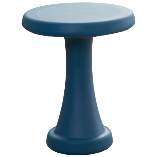 OneLeg skammel, 32 cm - petroleumsblå
