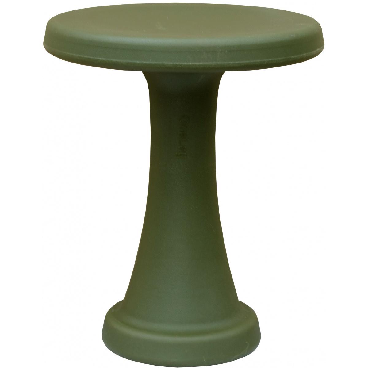 OneLeg skammel, 32 cm - mørkegrøn