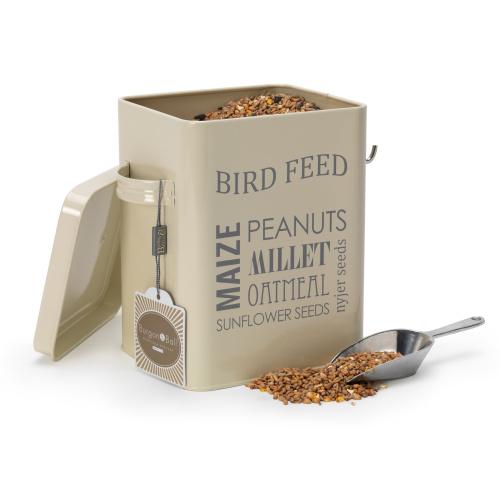 Burgon & Ball dåse til fuglefoder - creme