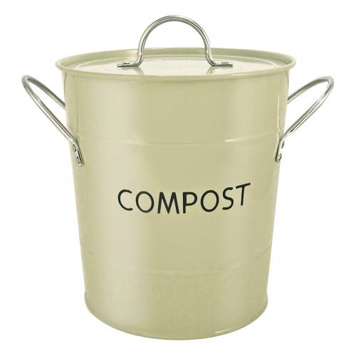 Eddingtons kompostspand, 2,8 L - salviegrøn