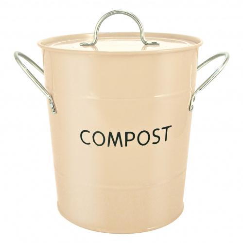 Eddingtons kompostspand, 2,8 L - creme