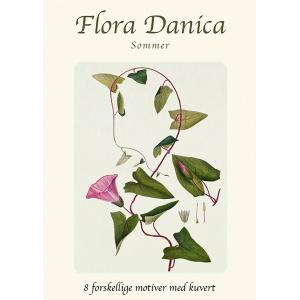 Flora Danica kortmappe - sommer