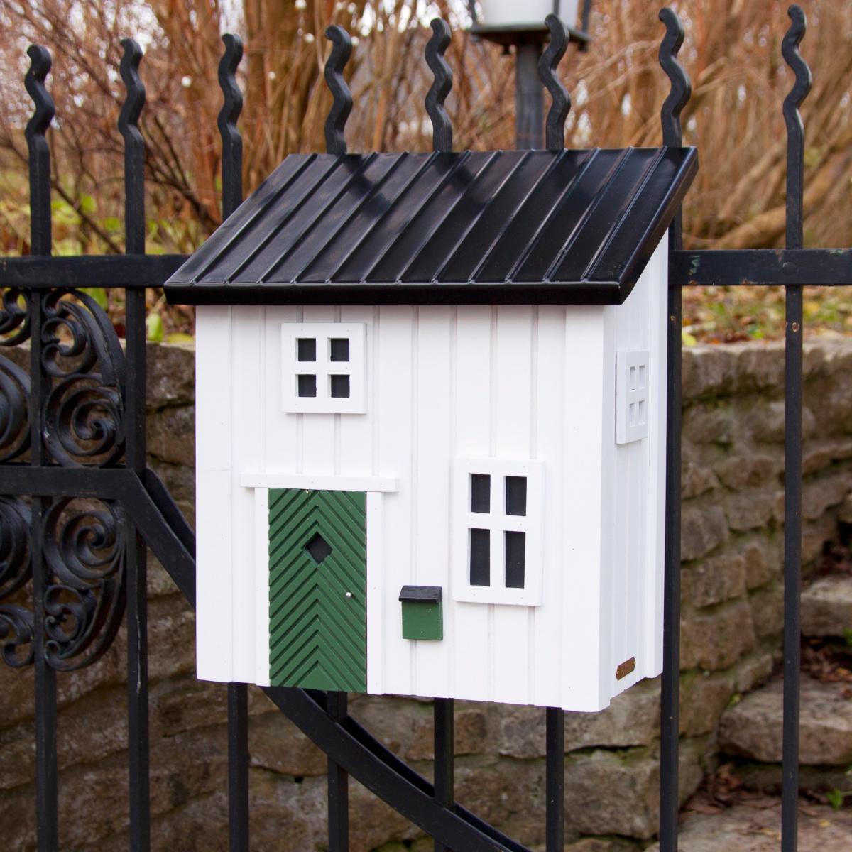 Wildlife Garden postkasse - hvid