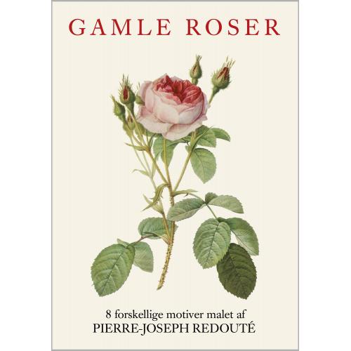 Koustrup & Co. kortmappe - gamle roser