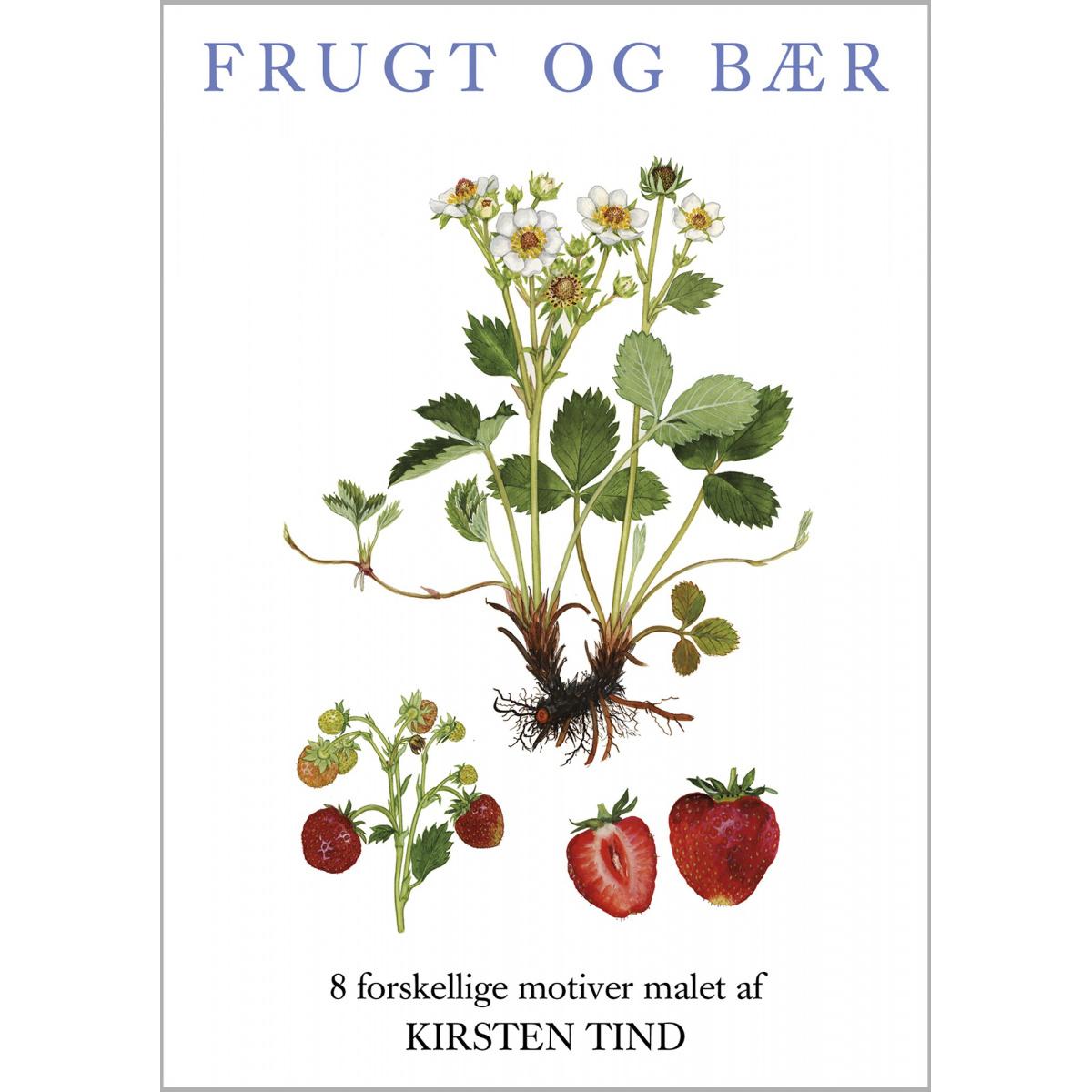 Koustrup & Co. kortmappe - frugt og bær