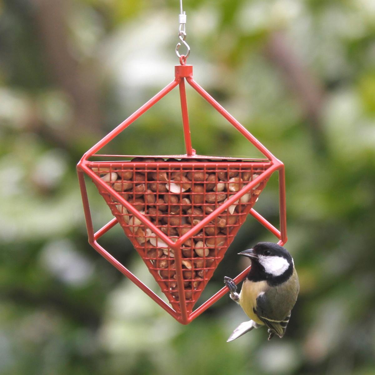 Wildlife Garden kube til jordnødder - rød