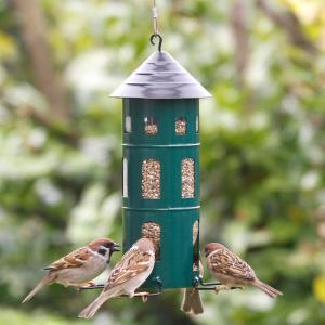 Wildlife Garden foderautomat til frø - grøn