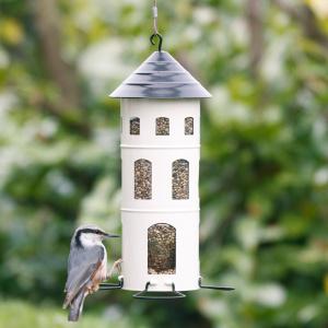 Wildlife Garden foderautomat til frø - hvid