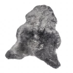 Organic Sheep økologisk lammeskind - sølv, kort hår