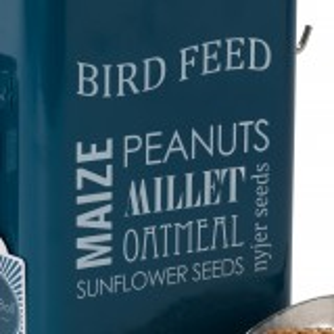 Burgon & Ball dåse til fuglefoder - petroleum