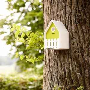 Emsa fuglehus - hvid/grøn