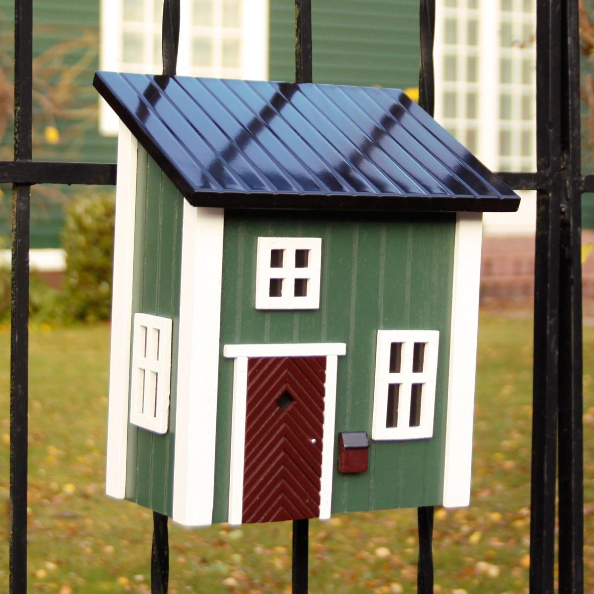 Wildlife Garden postkasse - grøn
