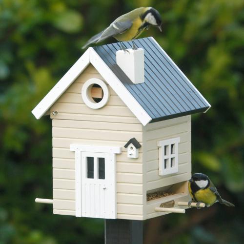 Wildlife Garden fuglehus/foderautomat - beige