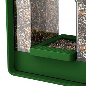 Emsa foderautomat - mørkegrøn