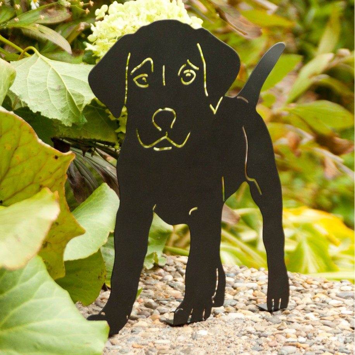 Wildlife Garden dyresilhuet - hundehvalp
