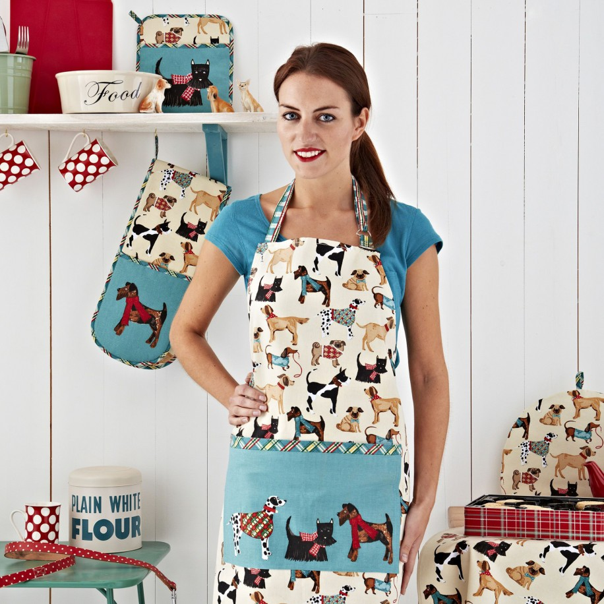 Ulster Weavers forklæde - Hound Dog