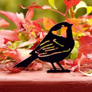 Wildlife Garden dyresilhuet - sortmejse
