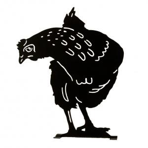 Wildlife Garden dyresilhuet - høne