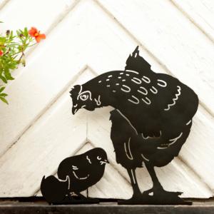 Her vist sammen med høne (medfølger ikke)