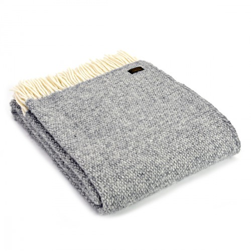 Tweedmill uldplaid - Illusion Grey