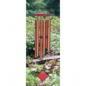 Woodstock vindspil, 68 cm - Pluto, bronze