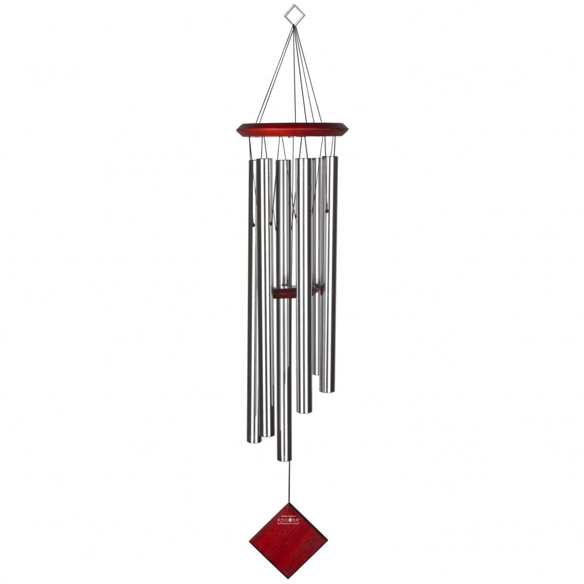 Woodstock vindspil, 94 cm - Jorden, sølv/mørk