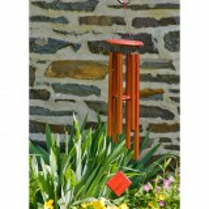 Woodstock vindspil, 94 cm - Jorden, bronze