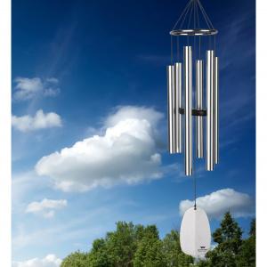 Woodstock vindspil, 81 cm - Paradis, sølv