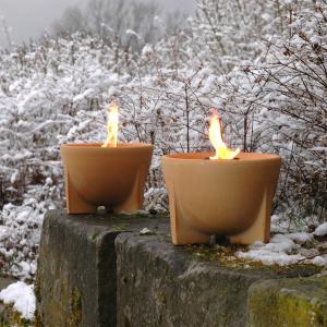 Denk smeltelys - natur