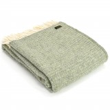 Tweedmill uldplaid - Illusion Green/Grey