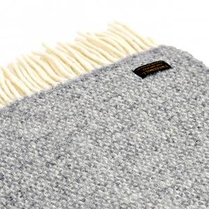 Tweedmill uldplaid - Illusion Grey