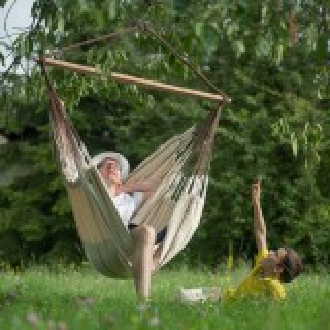 La Siesta hængestol, lounge, øko - natur
