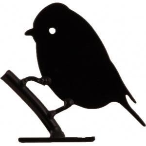 Wildlife Garden fuglesilhuet - blåmejse