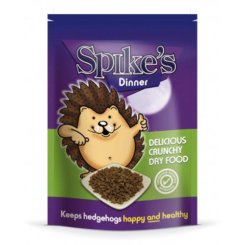 Spike's pindsvinefoder - forskellige mængder