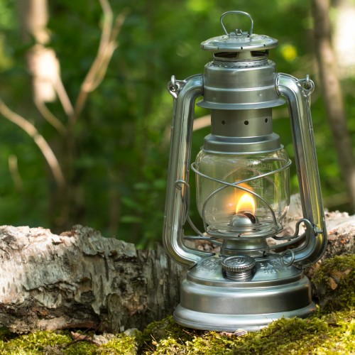 Feuerhand petroleumslampe - zink