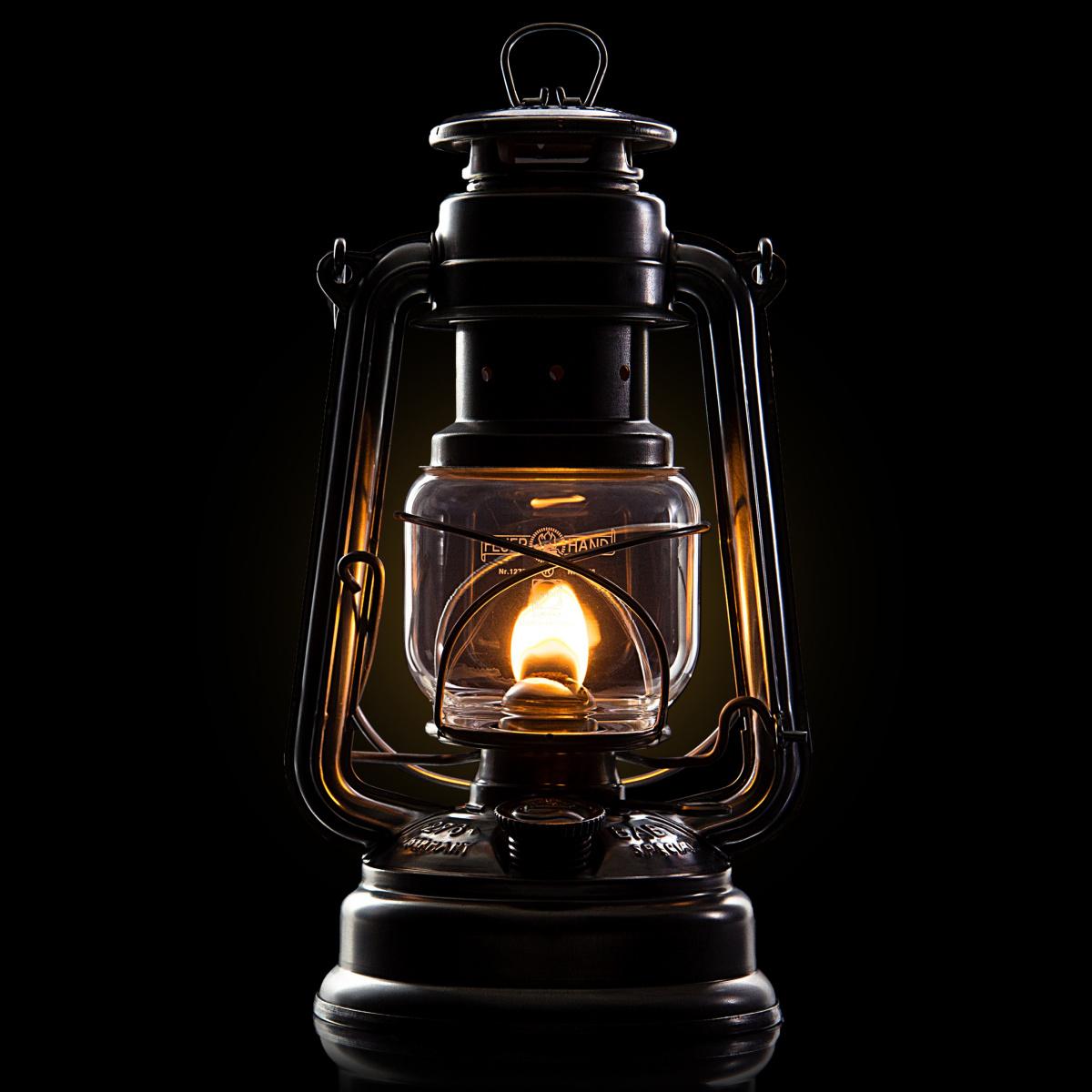 Feuerhand petroleumslampe - sort
