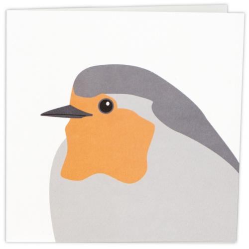 Wildlife Garden kort - rødhals