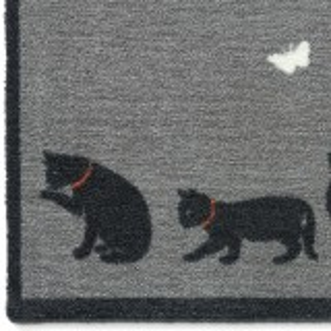 Howler & Scratch dørmåtte, 50x75 - Catch 1