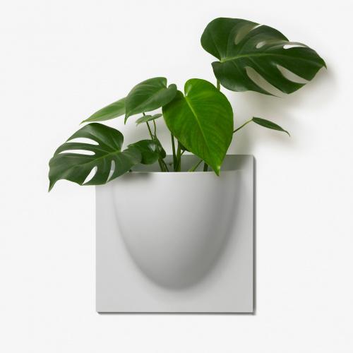VertiPlants vægkrukke - grå