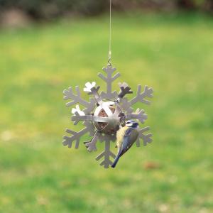 Wildlife Garden snefnug til mejsebolde - sølv