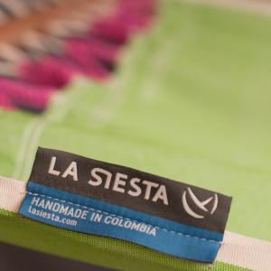 La Siesta hængekøje, 1 pers., tværpind - Fruta Kiwi
