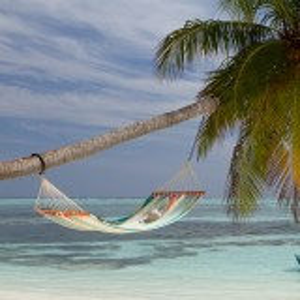 La Siesta hængekøje, 2 pers., tværpind - Colada Curaçao
