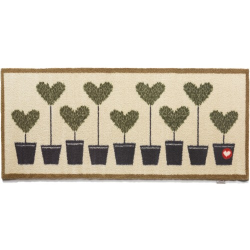 Hug Rug øko løber, 65x150 - Topiary 10